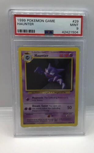 1999 HAUNTER Pokemon Game #29 PSA 9 mint!