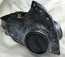 Steampunk leather gas mask - Halloween comiccon, robot Halloween horror costume