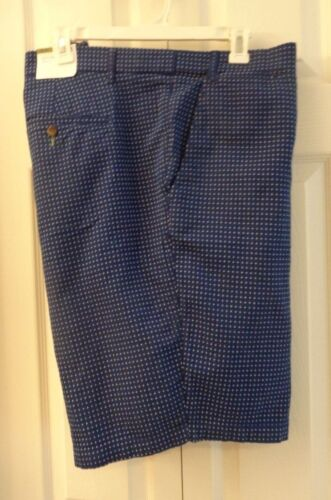 Goodfellow Big+Tall Cotton Shorts Expandable Waist Navy Blue Cotton//Spandex Knit
