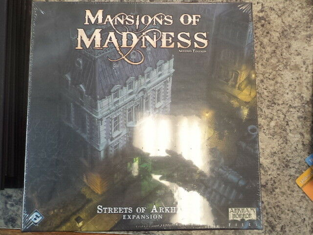 Femmesions Of Madness 2nd Édition Rues de Arkham Expansion Expansion Expansion Jeu Société Ffg Nouveau ccb137
