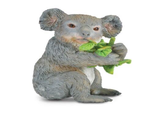 Koala Bear Eating 2 3//8in Wild Animals Collecta 88357