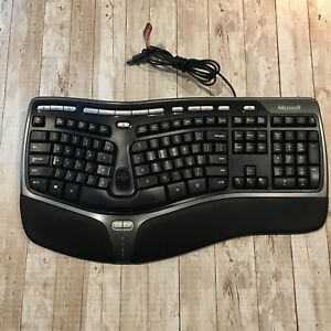 Microsoft Natural Ergonomic Keyboard 4000 v1.0 KU-0462 Model USB Wired