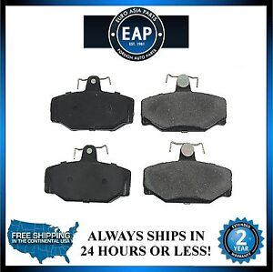 For 88-90 760 1999 S70 97-98 S90 98-99 V70 Front Ceramic Disc Brake Pad New