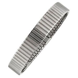 Magnetix-Armband-4622-Flexi-fein-gemustert-Breite11mm-Gr-M-XL-Magnetschmuck