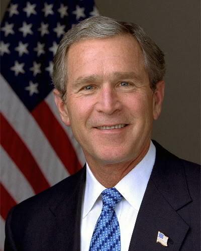 PRESIDENT GEORGE W BUSH PORTRAIT 8X10 PHOTO 43RD U.S