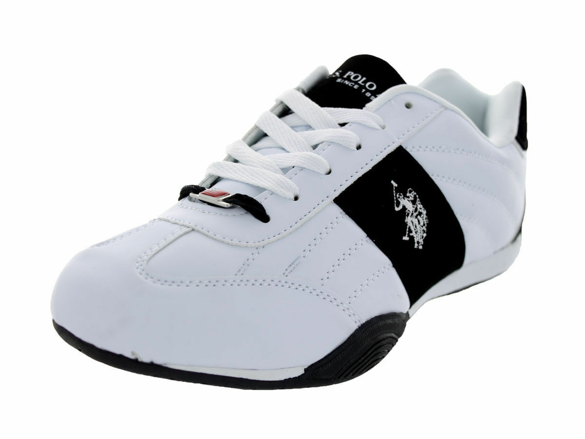 US Polo Assn Sparrow Round Toe Synthetic Sneakers NWOB 8.5 usa 42