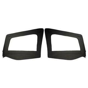 Upper-Door-Skin-Pair-Black-Denim-for-Jeep-Wrangler-YJ-1987-1995-89615