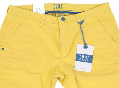 jeans L34 Uomo Hose Blue Gelb Pantaloni Mac Yellow W33 True Herren Neu Jeans 4fX1Wzq0