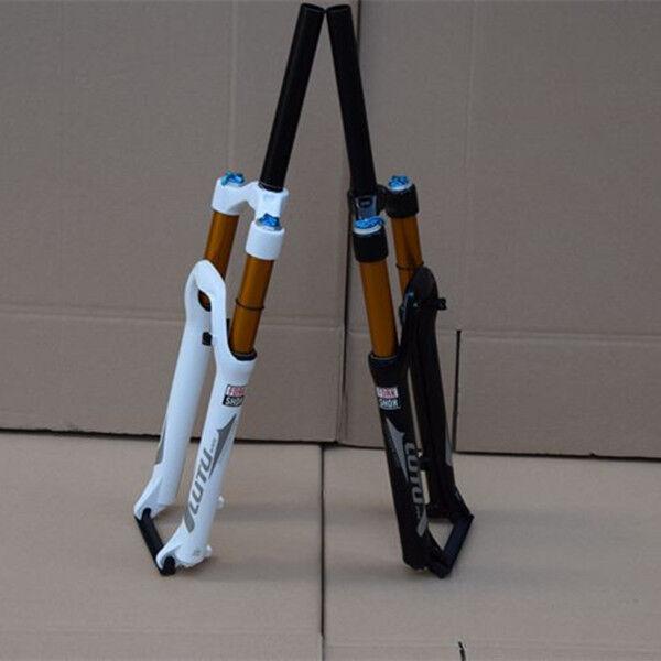 26 in (approx. 66.04 cm) Horquilla Delantera Bicicleta Aleación De Aluminio Amortiguador + Aleación de magnesio