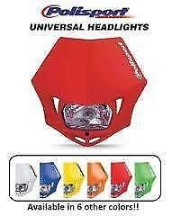 Polisport-White-MMX-Headlight
