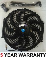 "Universal 12"" classic car engine Radiator intercooler Cooling Fan Slimline 12v"
