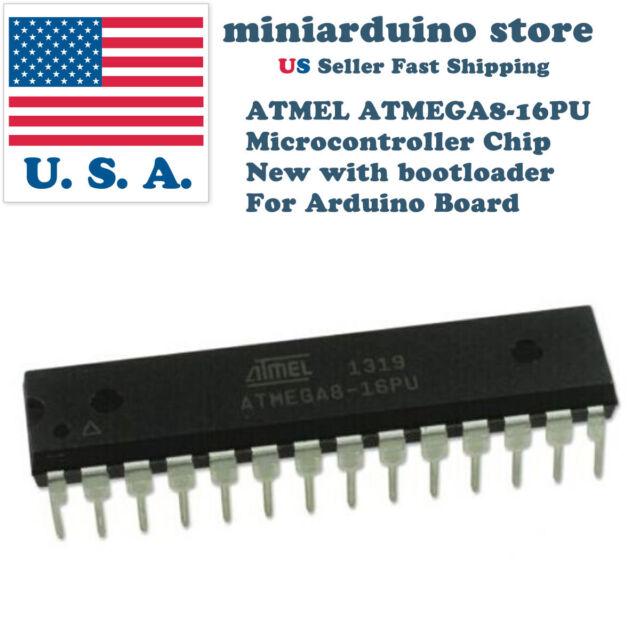 5PCS ATMEGA8 ATMEGA8L-8PU DIP-28 Microcontroller MCU AVR NEW