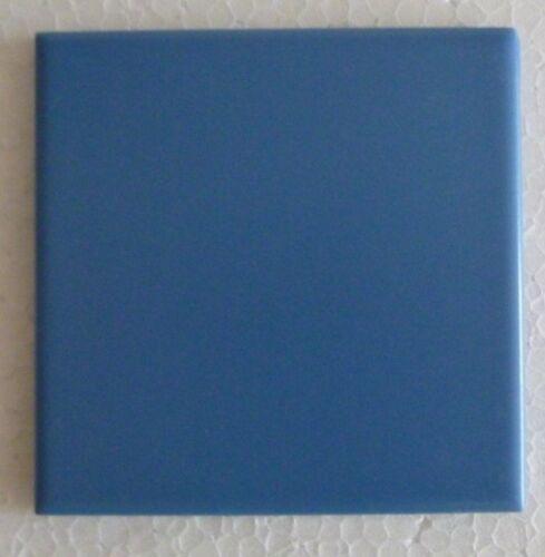 Fliesen 10 x 10 Matt Aquamarine Dunkel Blau  Kacheln