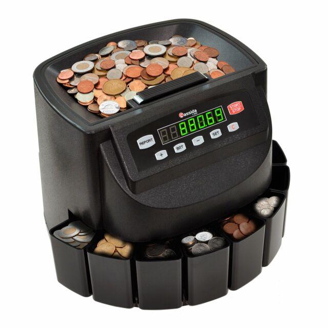 cassida c200 canadian coin sorter