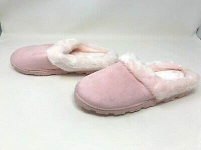 Pink Fuzzy Slippers Womens Avon f4056451 407m-o To Ensure A Like-New Appearance Indefinably