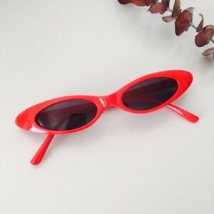 be6b46b728 Vintage 90s Red Oval Frame Vintage Retro Style Cateye Design ...