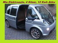 MIA Elektro Auto, TÜV , 4 Sitzer, Lithium Batterie ( Eigentum )  keine Miete !!!