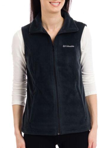 Plus Size Details about  /Columbia Women/'s Benton Springs Fleece Full Zippered Vest