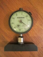 Vtg Dial Indicator Federal C81 001 Full Jeweled Miracle Movement Depth Gage