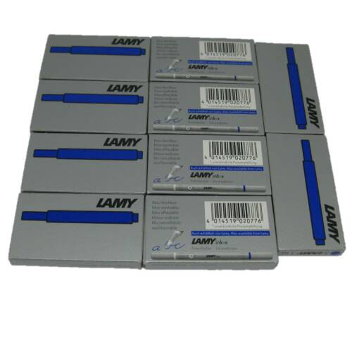 Lamy Tintenpatrone 5 Stück 10 Stück T10 blau Füller Patrone NEU Patronen Tinten