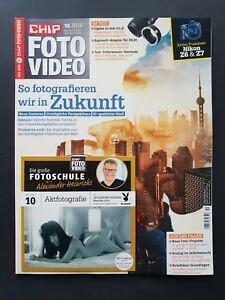 CHIP  Foto Video 10/2018 So fotografieren wir in Zukunft  +  CD  ungel., 1A