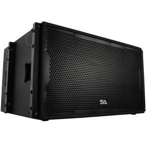 Seismic-Audio-Premium-Passive-2x15-Line-Array-Subwoofer-Live-Sound-Band