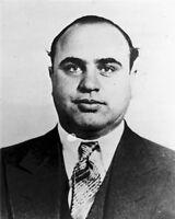 8x10 Photo: Mugshot Of Infamous Chicago Mafia Gangster Al Capone