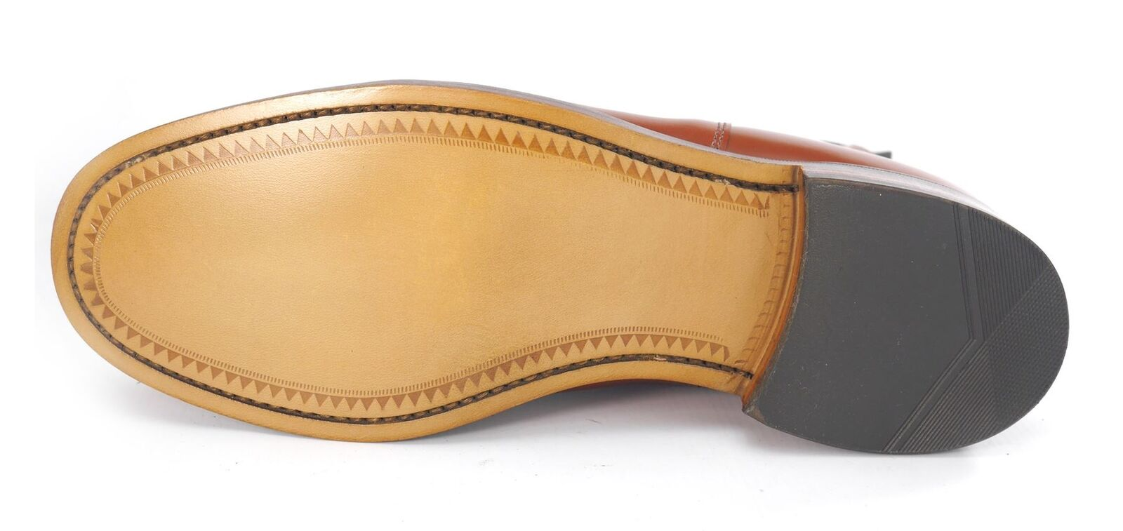 Charles Horrel Weatherby Britsh Handmade Welted Mens Dealer Dealer Dealer Chelsea Boots Brown eaa2fb