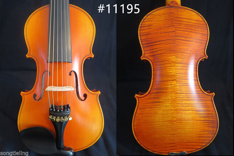 Strad Style SONG Brand maestro 6 string 4 4violin ,huge and powerful sound
