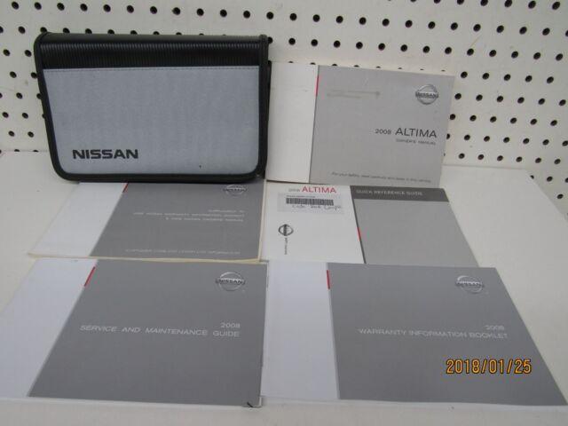 2020 Nissan Altima Owners Manual Set Operators Manual Manual Guide