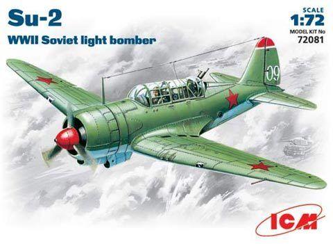 ICM 1//72 Sukhoi Su-2 # 72081