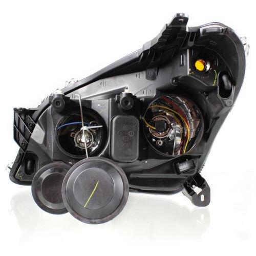 Scheinwerfer Set Satz Opel Astra H Bj 03//04-12//09/> H7+H1+Motoren klar//schwarz