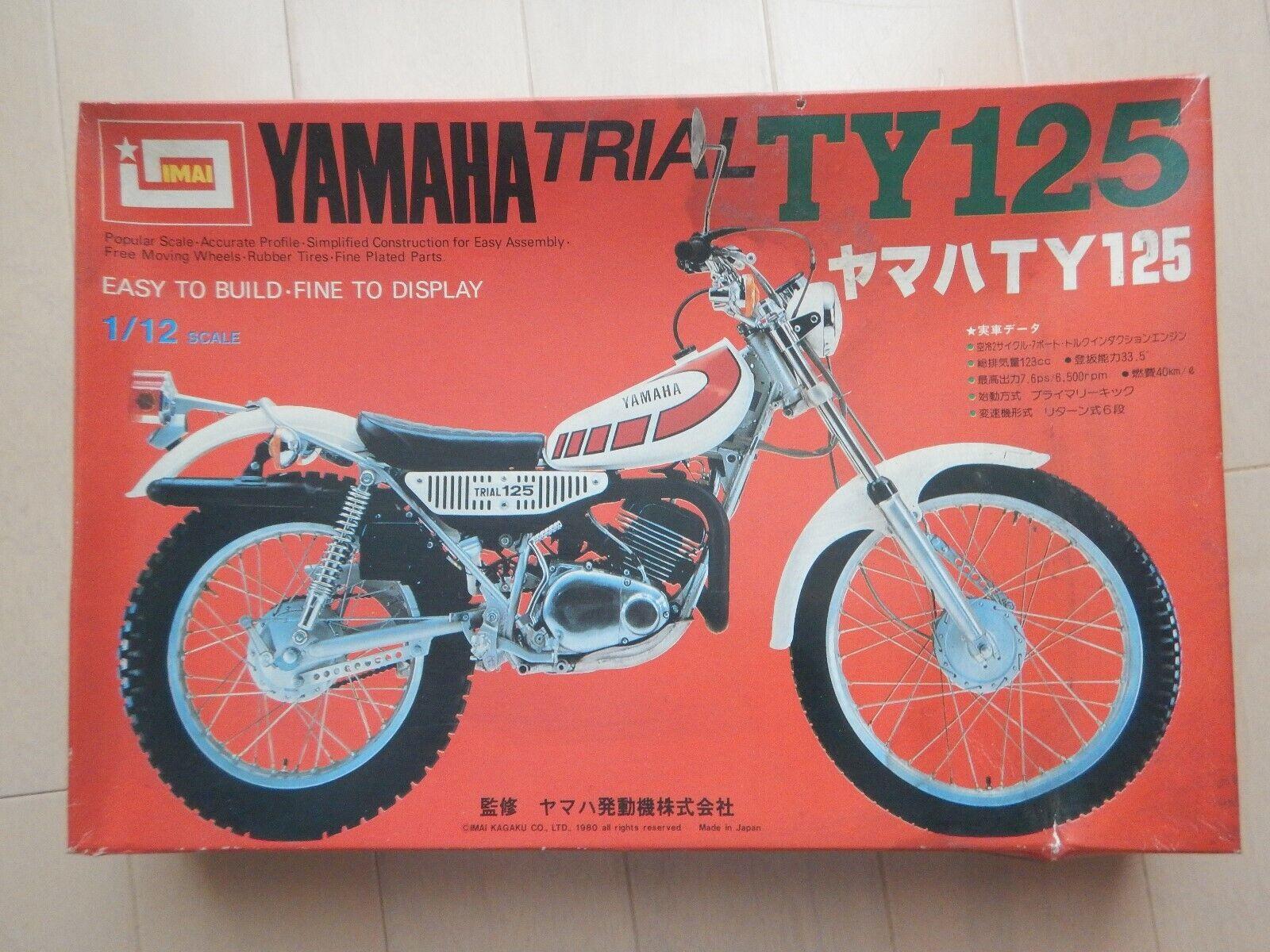 Imai Yamaha experimental ty125 - 1   12 modelo modelo kits retrospectivos