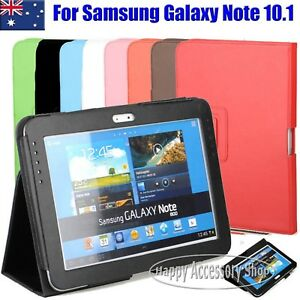 buy popular ef96c 156d7 Details about Flip Leather Case Cover for Samsung Galaxy Note 10.1 N8000,  N8010