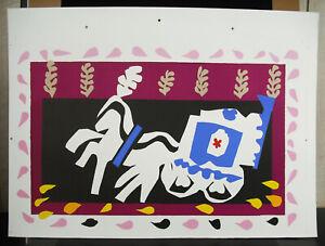 Print-Plank-Test-Printer-Henri-Matisse-034-L-039-Hen-Pierrot-034