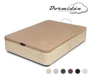 Canape abatible polipiel con tapa 3D, diferentes colores y medidas