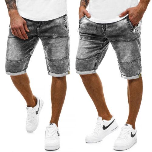 KURZHOSE Shorts Pantalons Bermuda Jeans Classic Casual Messieurs OZONEE 9558 Mix