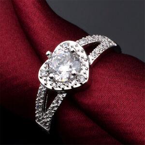Elegant-Women-Fantastic-Silver-Plated-Crystal-Heart-Engagement-Wedding-Band-Ring