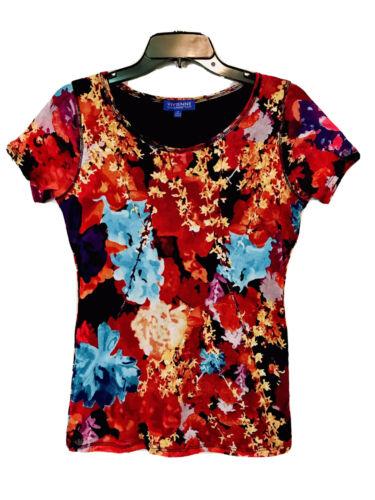 Vivienne Vivienne Tam Ladies Floral Layered Mesh S