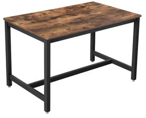 industrial dining table vintage retro furniture rustic