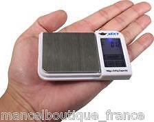 Balance haute précision tactile 100g x 0.01g + poids de calibrage 100g OFFERT