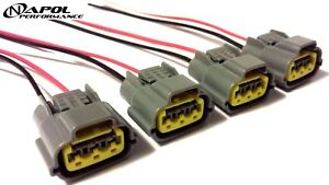 image is loading ignition-coil-pack-wiring-harness-connector-for-altima-