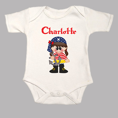 GRO //BODYSUIT *GREAT GIFT /& NAMED TOO* SOCCER FOOTBALL PERSONALISED BABY VEST