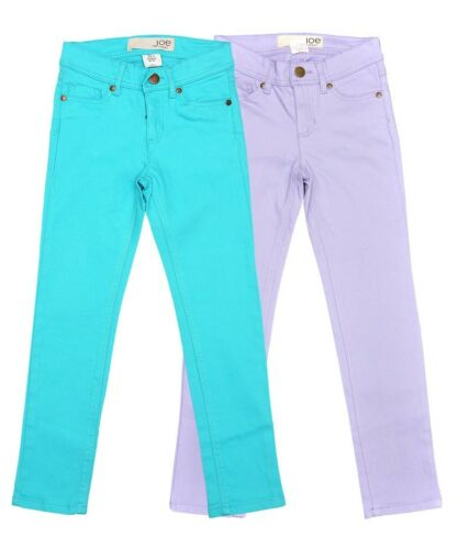 Girls Skinny Turquoise Lilac Jeans by Joe Fresh 2-7 years Brand New
