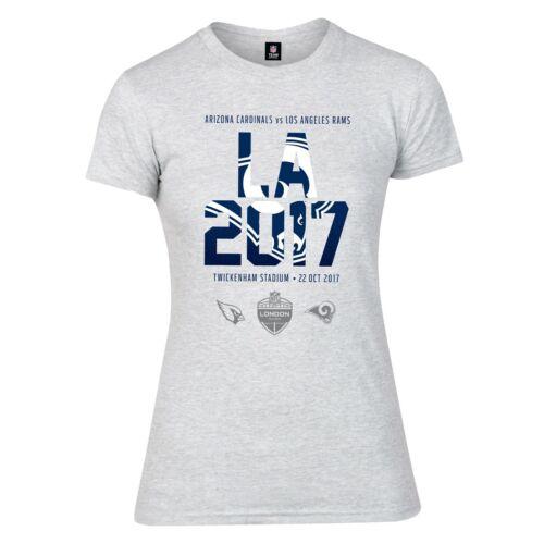B32 Womens S Los Angeles Rams London Games 2017 T-Shirt