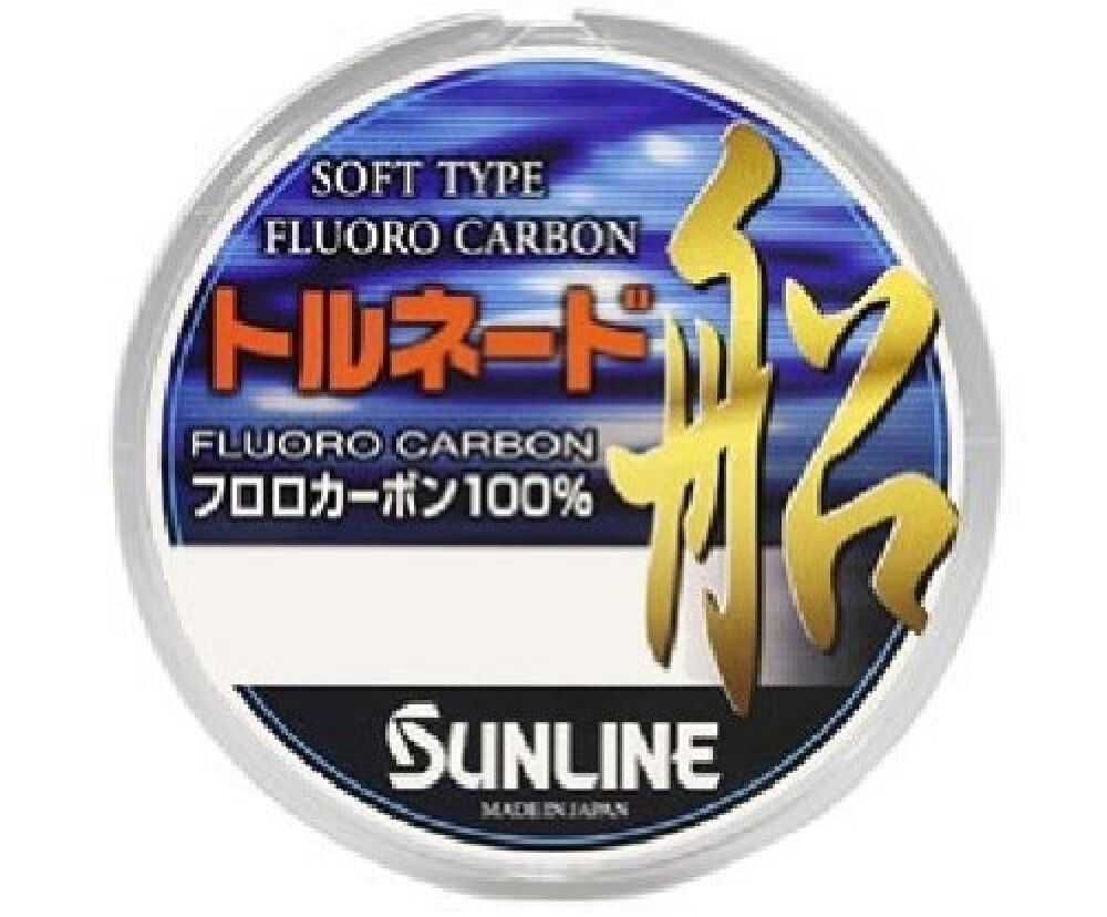 Sunline Fluorocarbon Line Tornado Boat 300M 10 Clear Fishing Line From Japan New