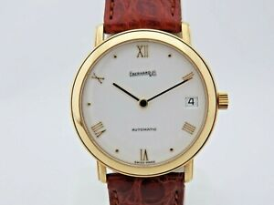 Eberhard-18-Carats-Gold-Ref-40027-Automatic-1-1-4in-Serviced-New-Box-amp-Papers