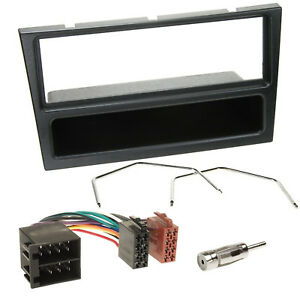 Vauxhall-Vivaro-Black-Car-Stereo-Radio-Fascia-Facia-Adaptor-Wiring-Fitting-KIT