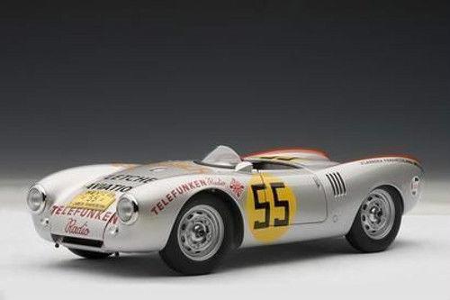 1 18 Autoart Porsche RS Spyder 550 1500   55 Carrera Panamericana 1954 Herrmann