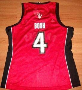 watch cda4f 157de Details about CHRIS BOSH TORONTO RAPTORS JERSEY XL LADIES #4 ADIDAS NBA